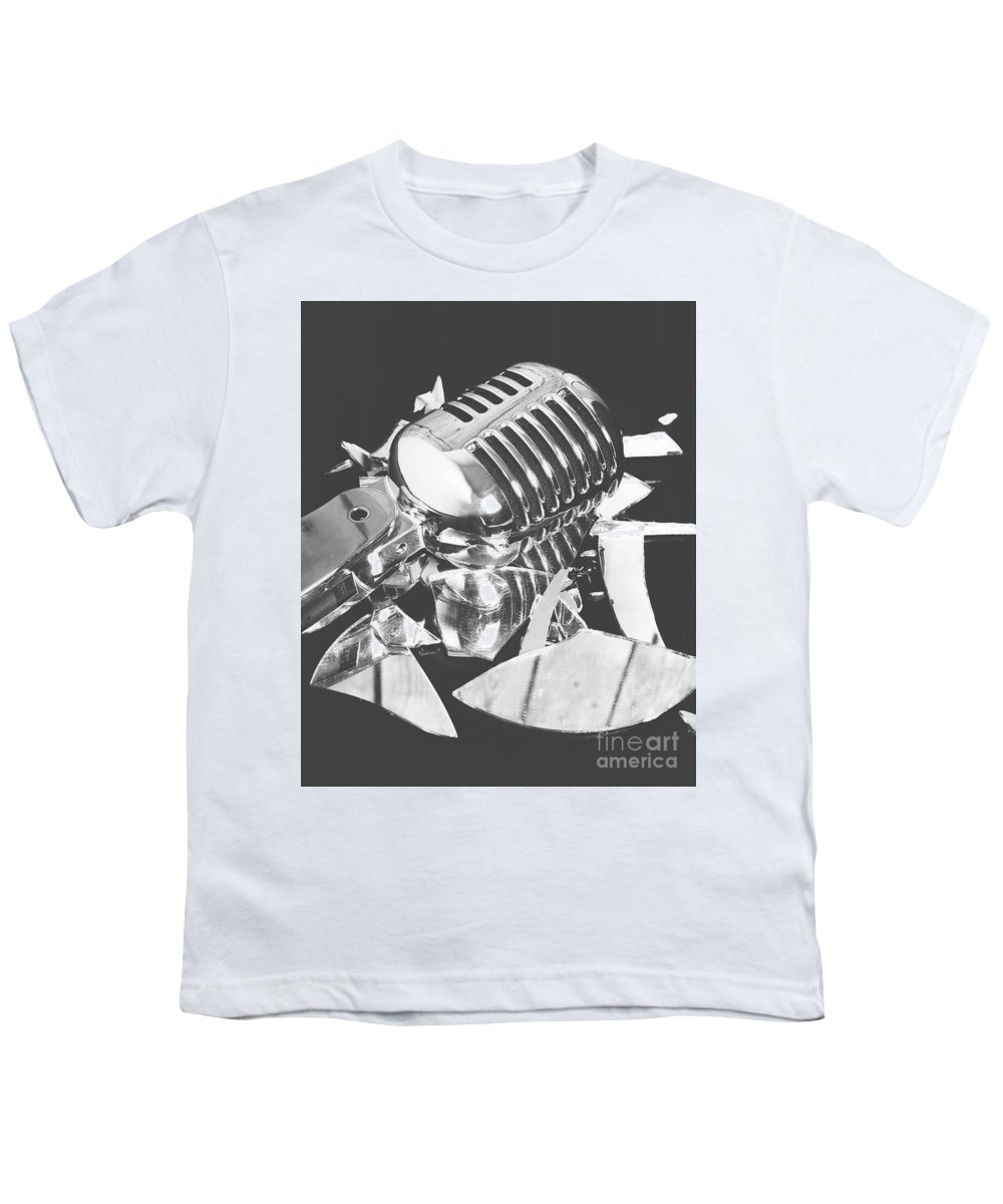 Performance Youth T-Shirt featuring the photograph Greatest Hits by Jorgo Photography - Wall Art Gallery