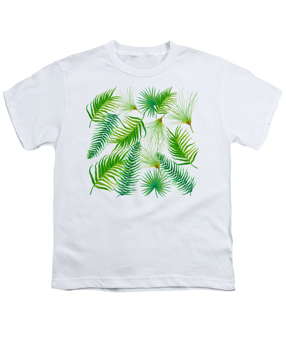 Tropical Plant Youth T-Shirts