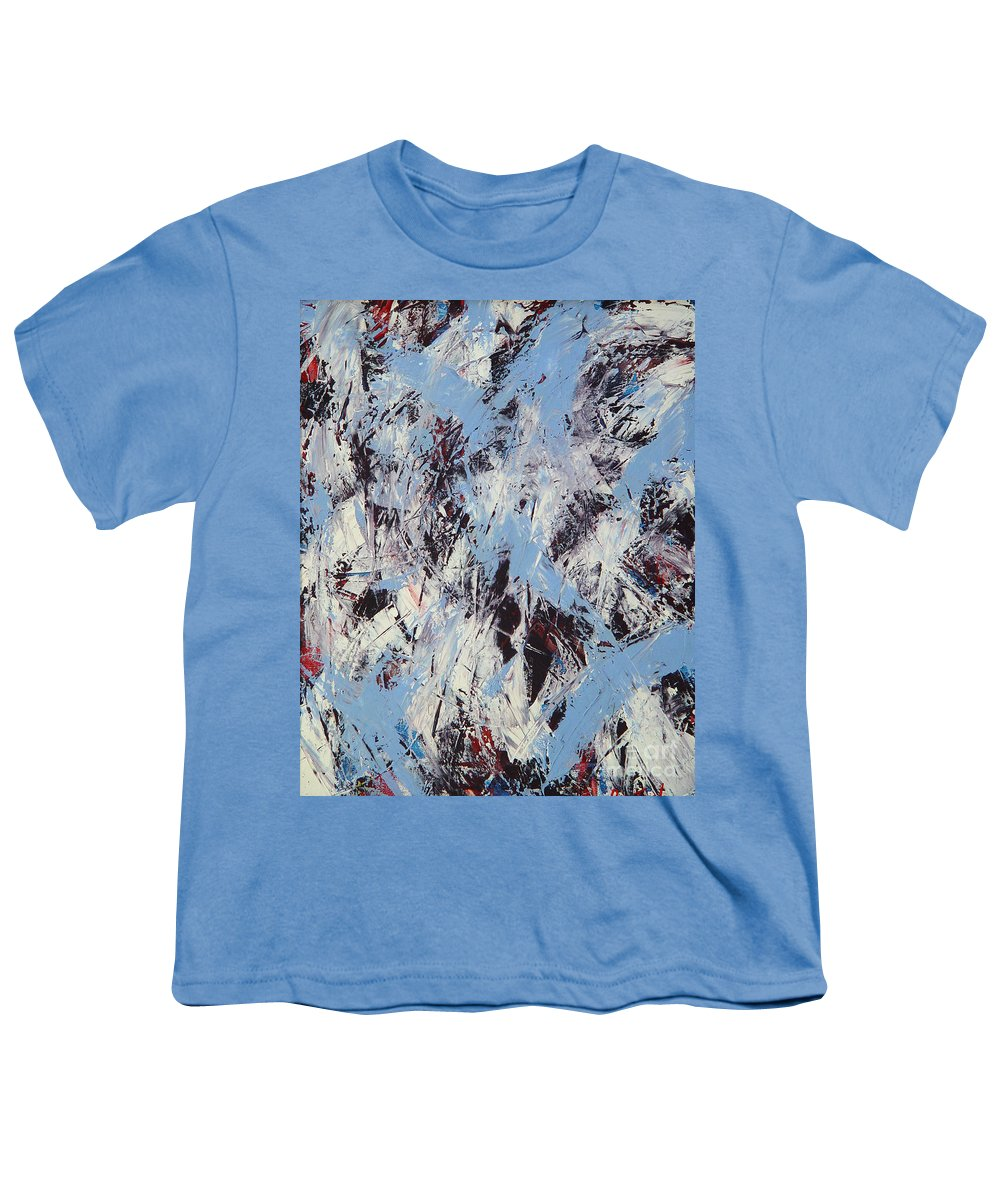 Abstract Youth T-Shirt featuring the painting Winter by Dean Triolo