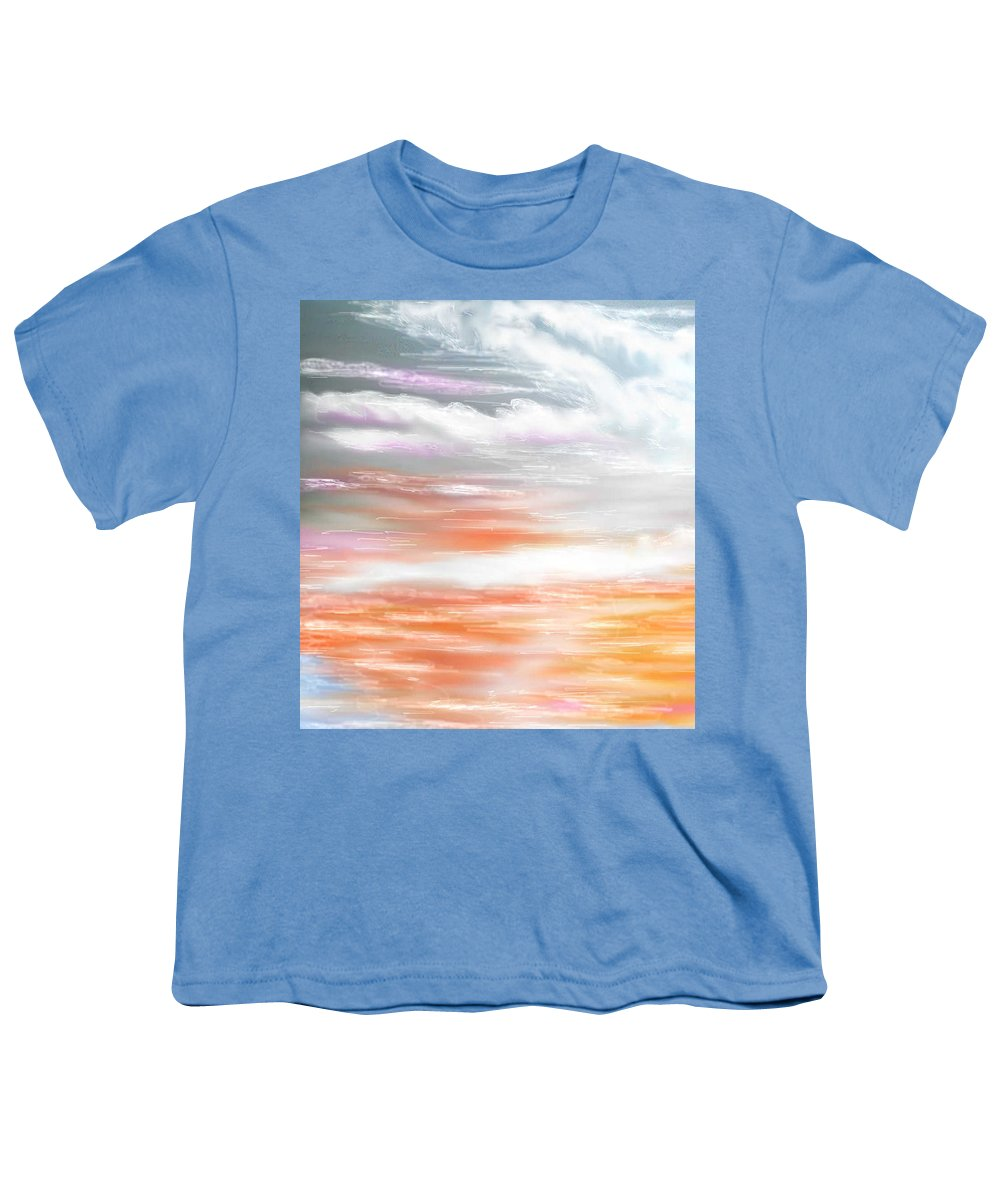 Inspirational Art Youth T-Shirt featuring the digital art A Light Unto My Path by Brenda L Spencer