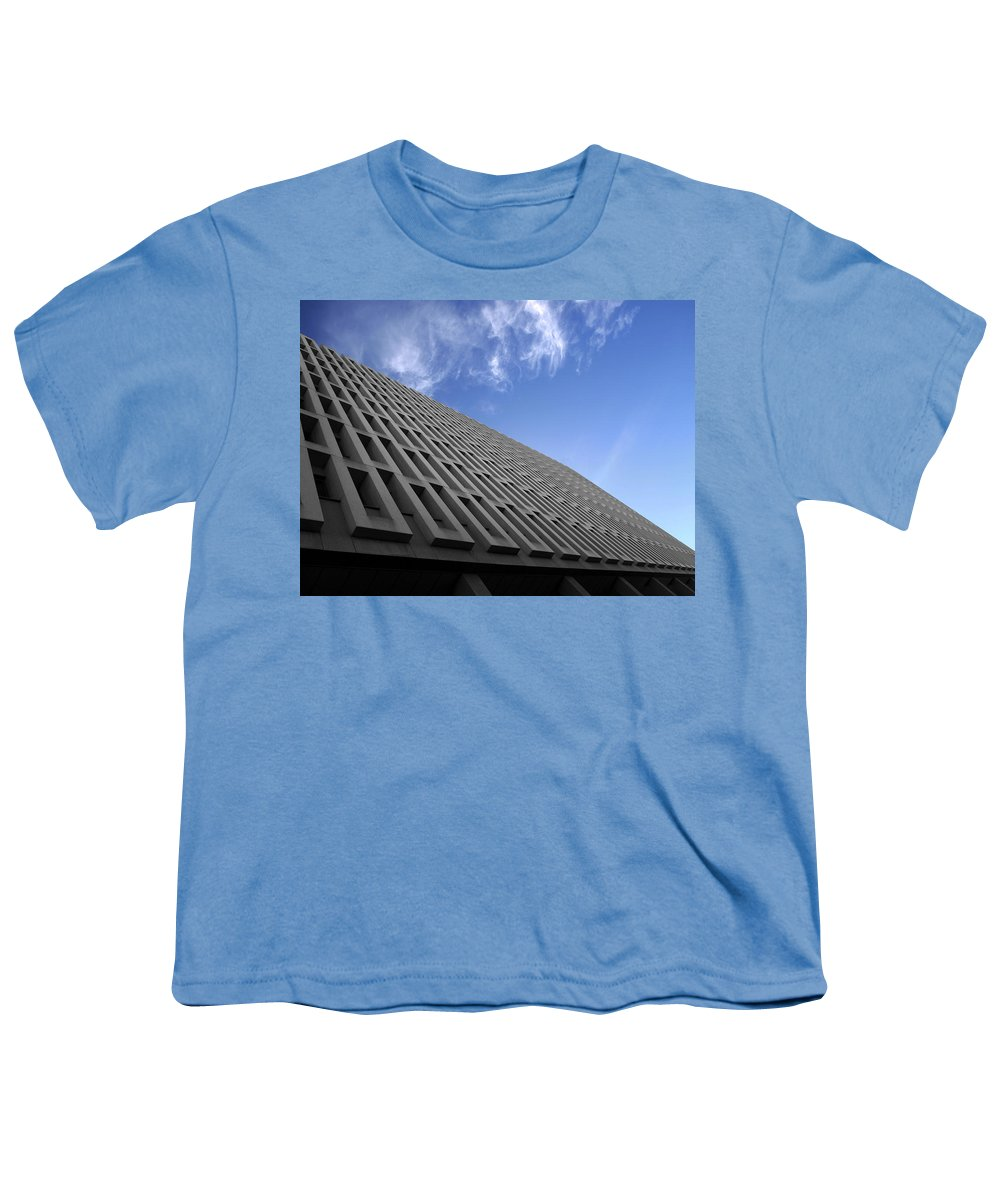 Building Youth T-Shirt featuring the photograph ABC by Kelly Jade King