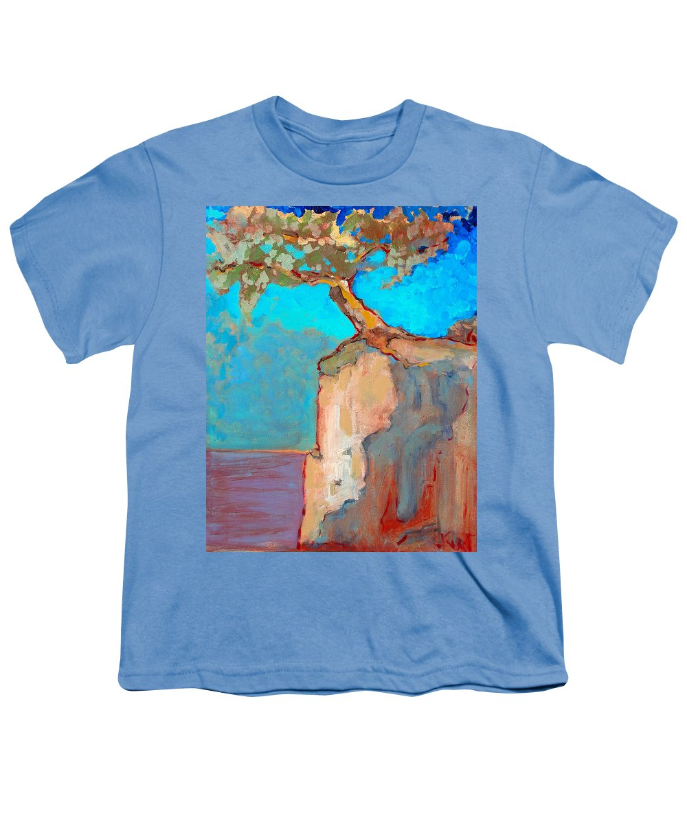 Tree Youth T-Shirt featuring the painting Albero by Kurt Hausmann