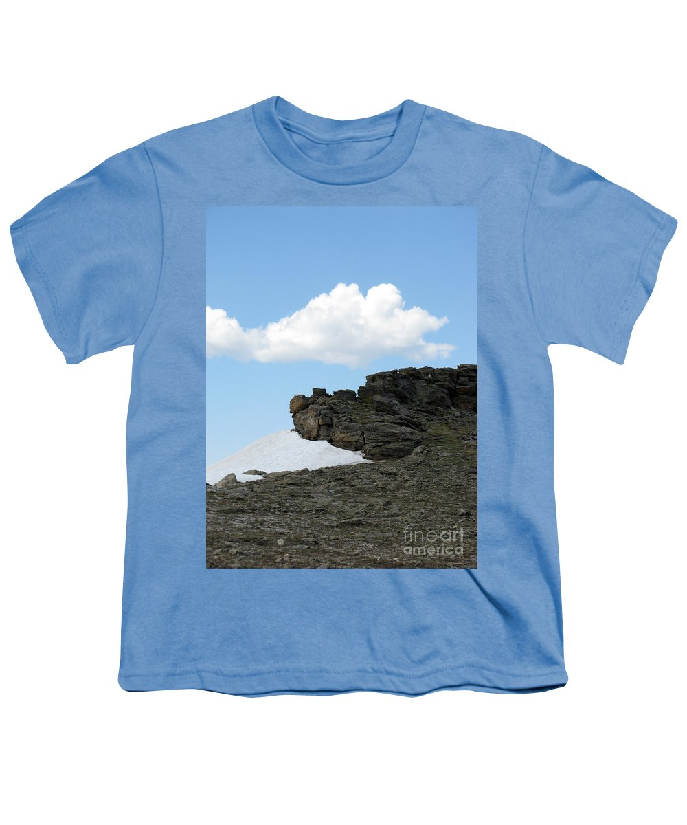 Rocky Mountains Youth T-Shirt featuring the photograph Alpine Tundra - Up In The Clouds by Amanda Barcon