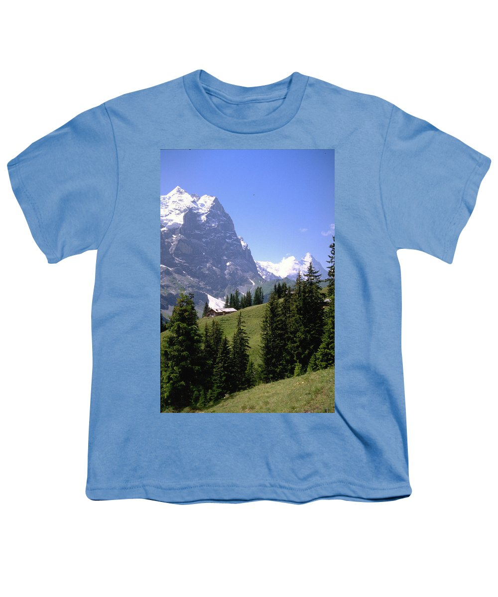 Alps Youth T-Shirt featuring the photograph Alps by Flavia Westerwelle