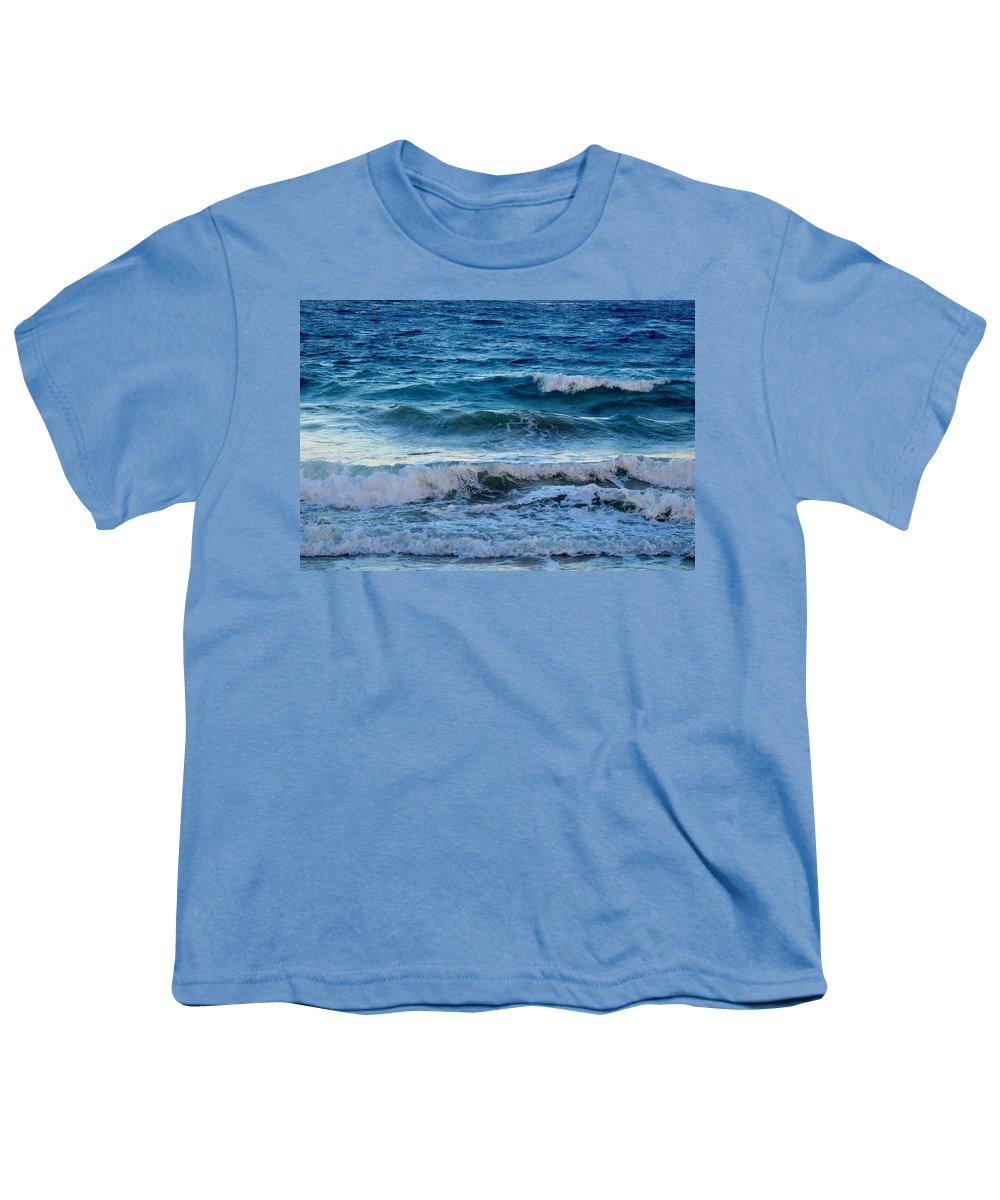 Sea Youth T-Shirt featuring the photograph An Unforgiving Sea by Ian MacDonald