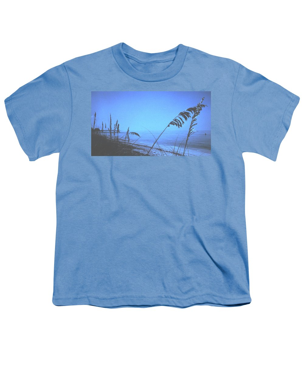 Youth T-Shirt featuring the photograph Bahama Blue by Ian MacDonald