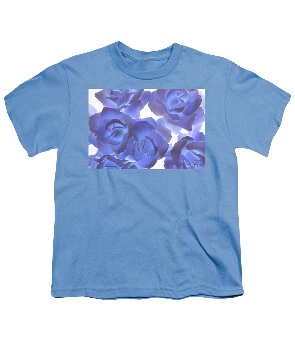 Blue Youth T-Shirt featuring the photograph Blue Roses by Tom Reynen