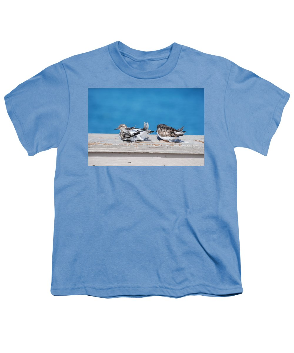 Bird Youth T-Shirt featuring the photograph Cold Birds by Rob Hans