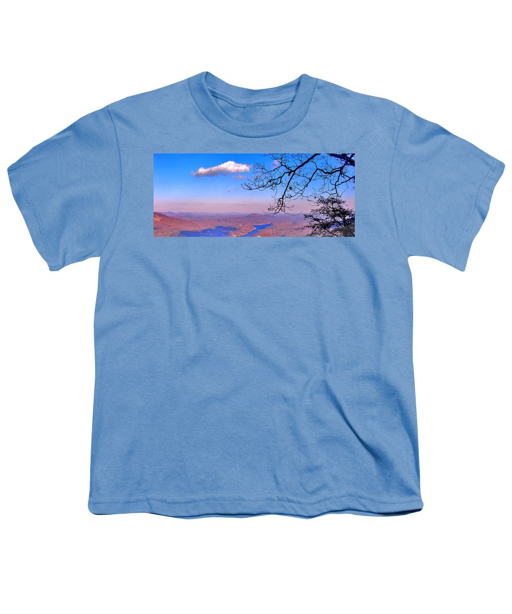 Landscape Youth T-Shirt featuring the photograph Detail From Reaching For A Cloud by Steve Karol
