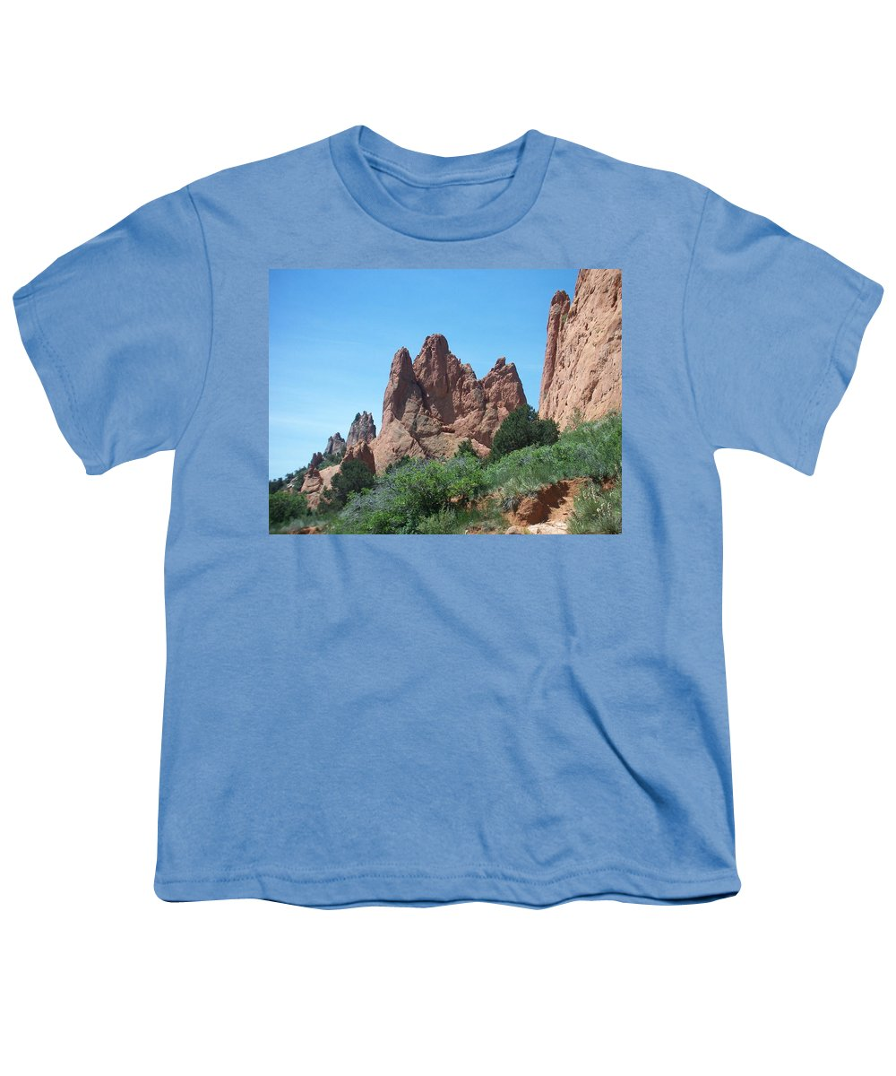 Colorado Youth T-Shirt featuring the photograph Garden Of The Gods 2 by Anita Burgermeister