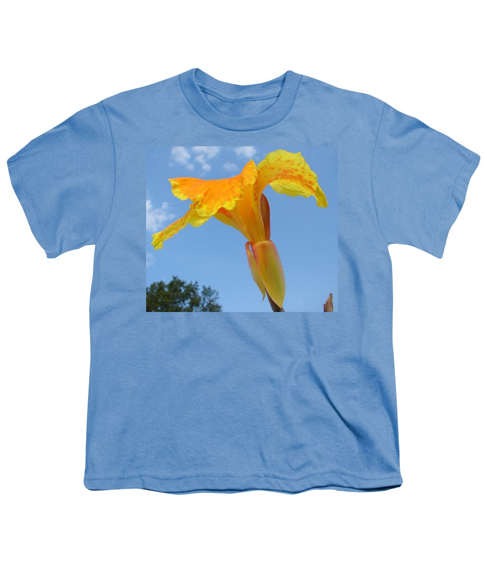 Youth T-Shirt featuring the photograph Happy Canna by Luciana Seymour