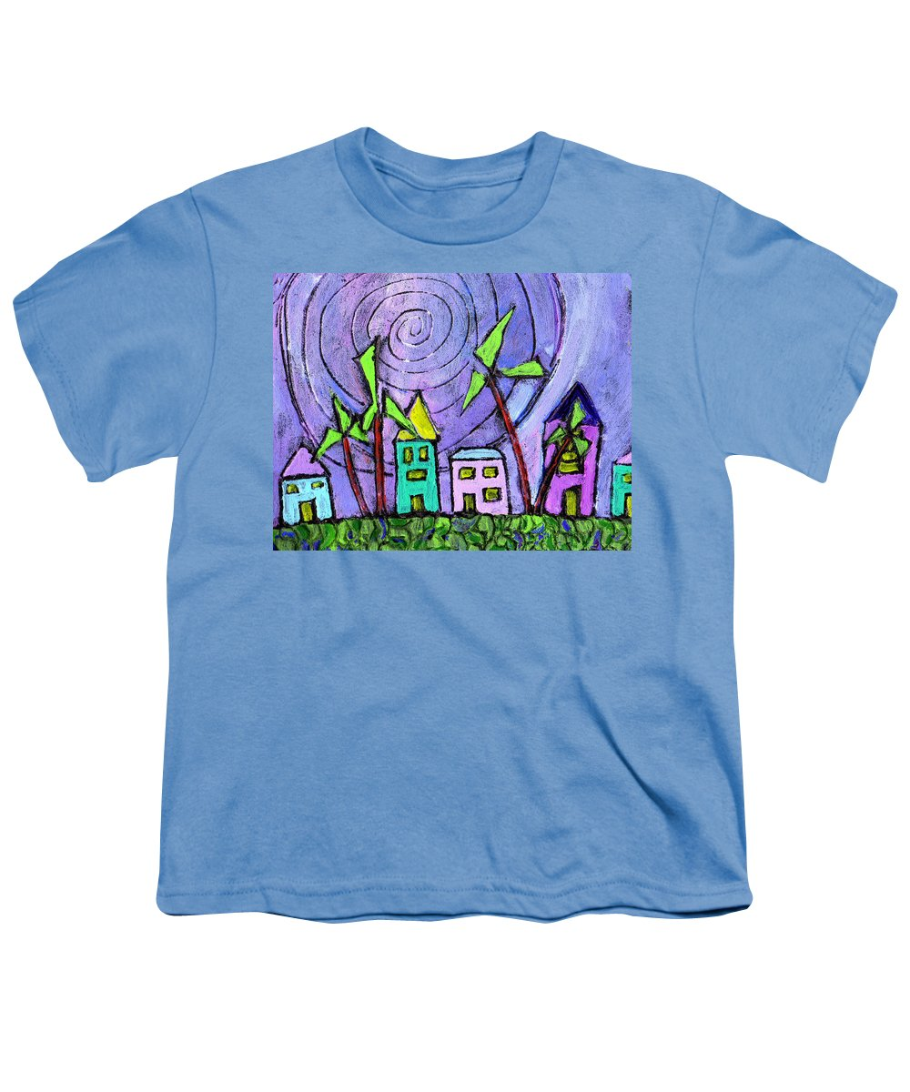 Island Youth T-Shirt featuring the painting Island Dreams by Wayne Potrafka
