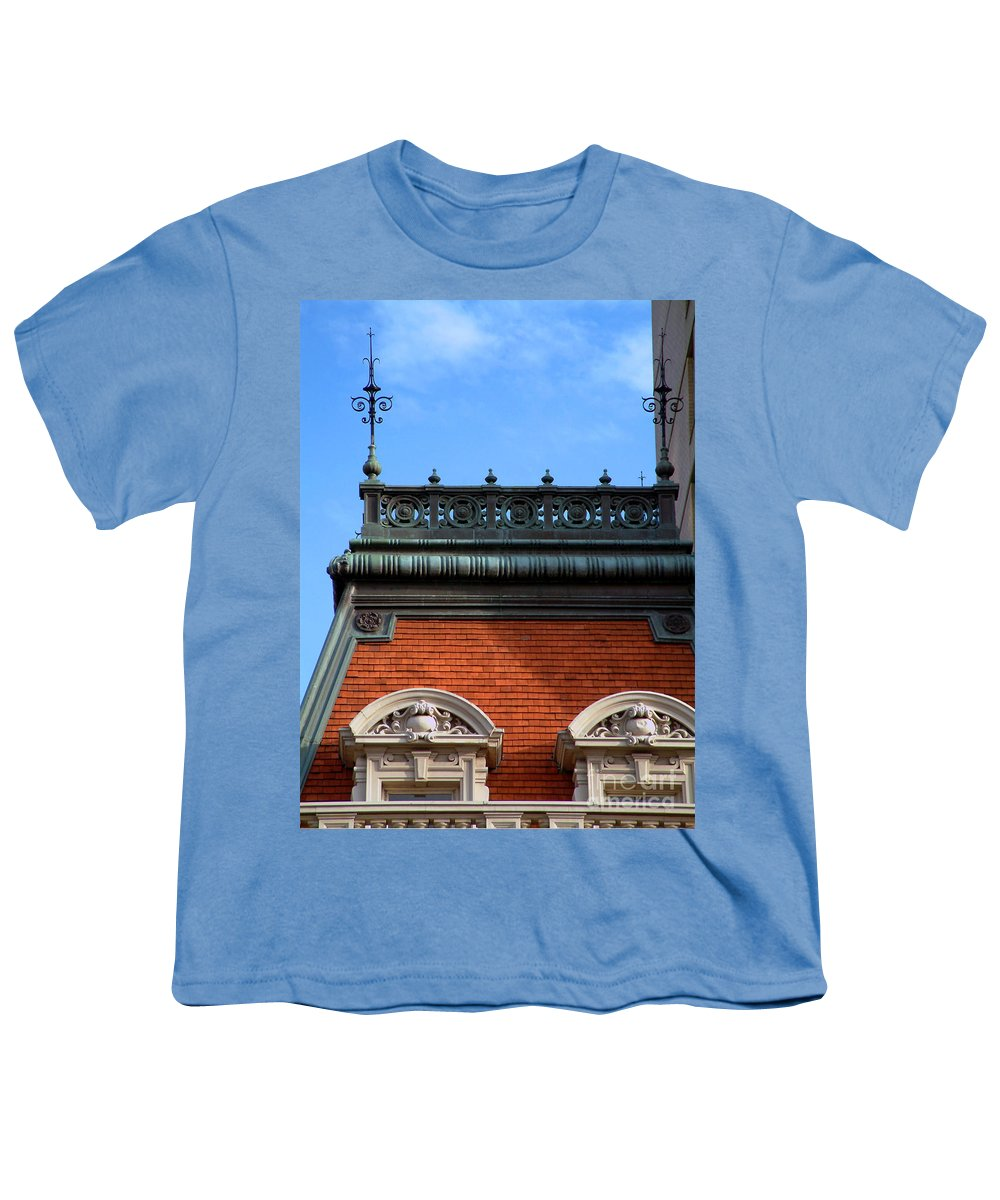 Apartment Youth T-Shirt featuring the photograph On A Clear Day by RC DeWinter