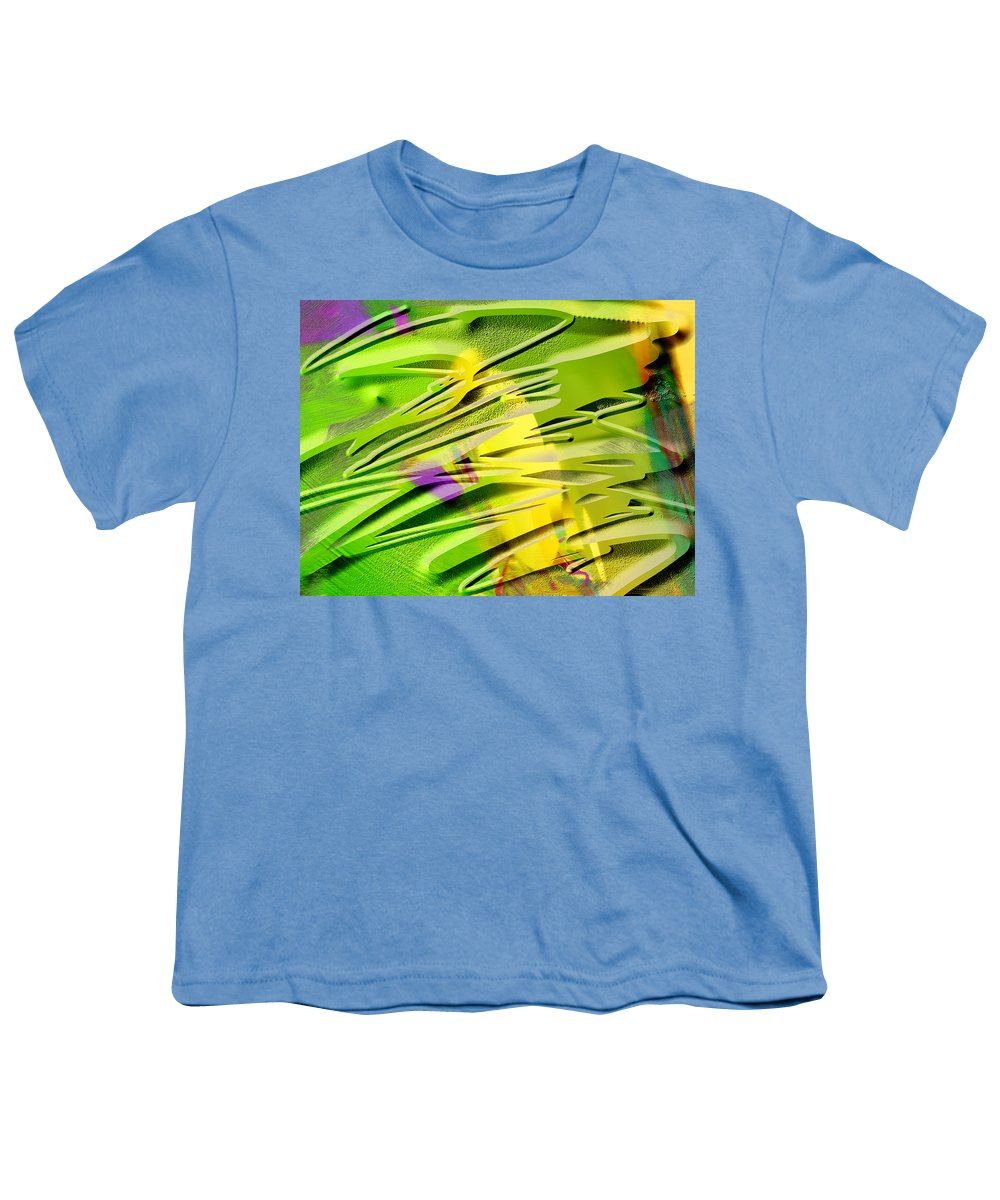 Scott Piers Youth T-Shirt featuring the painting P39b by Scott Piers