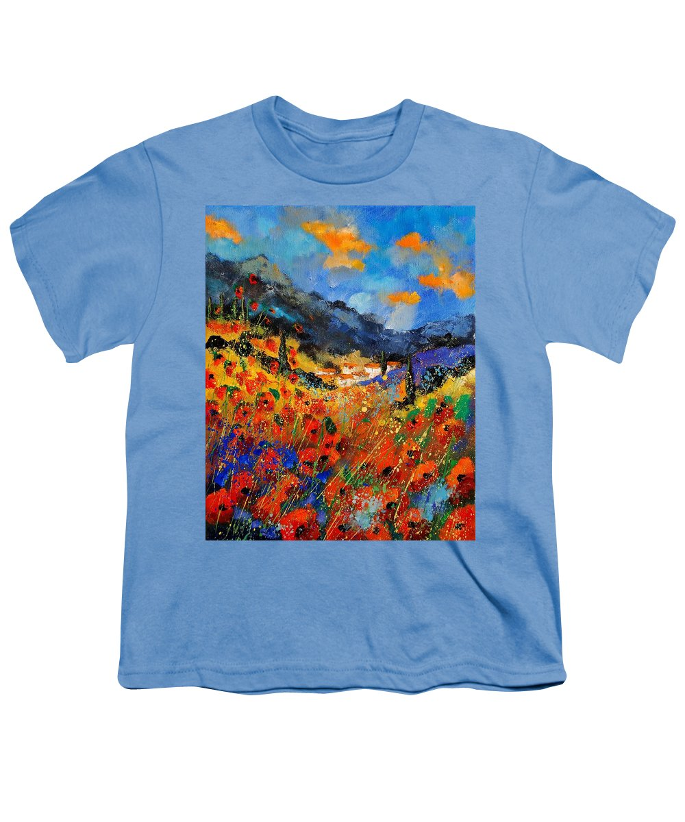 Youth T-Shirt featuring the painting Provence 459020 by Pol Ledent