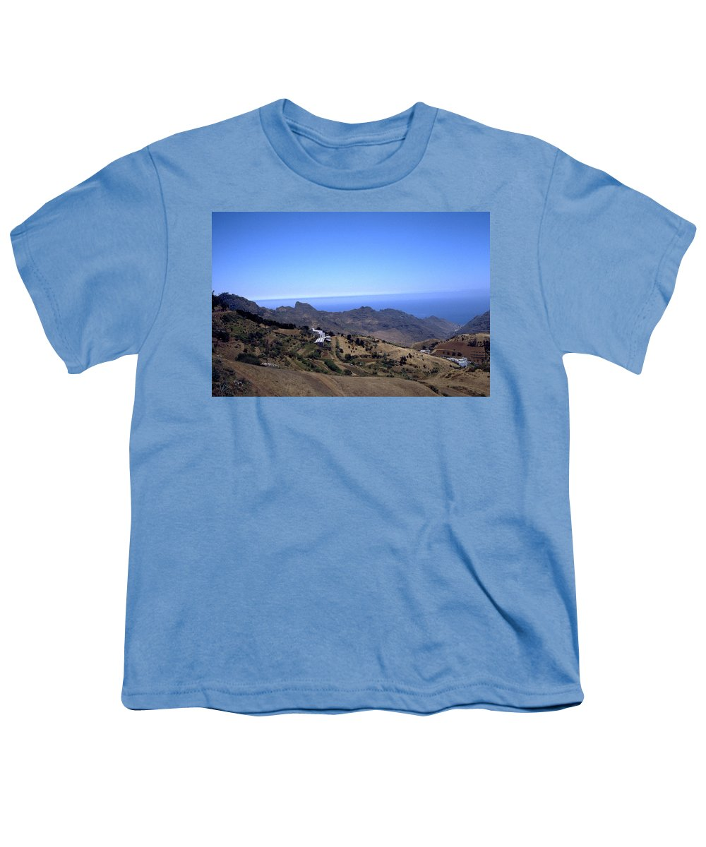 Tenerife Youth T-Shirt featuring the photograph Tenerife II by Flavia Westerwelle