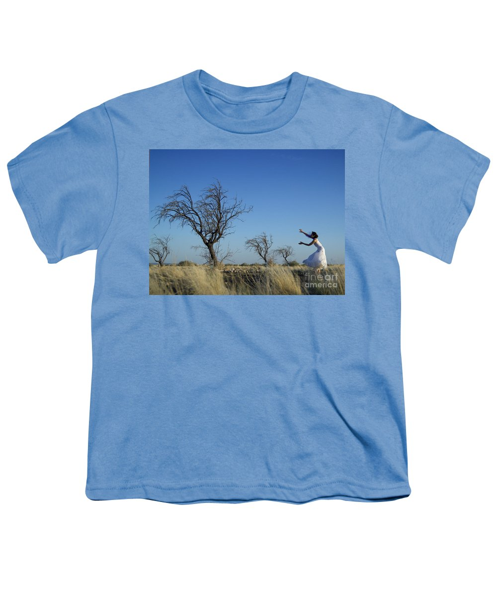 Landscape Youth T-Shirt featuring the photograph Tree Echo by Scott Sawyer