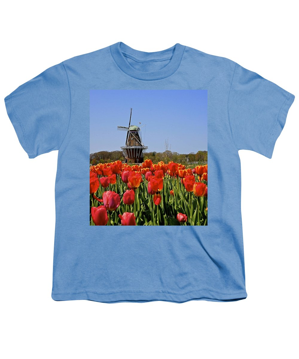 Tulips Youth T-Shirt featuring the photograph Two Lips by Robert Pearson