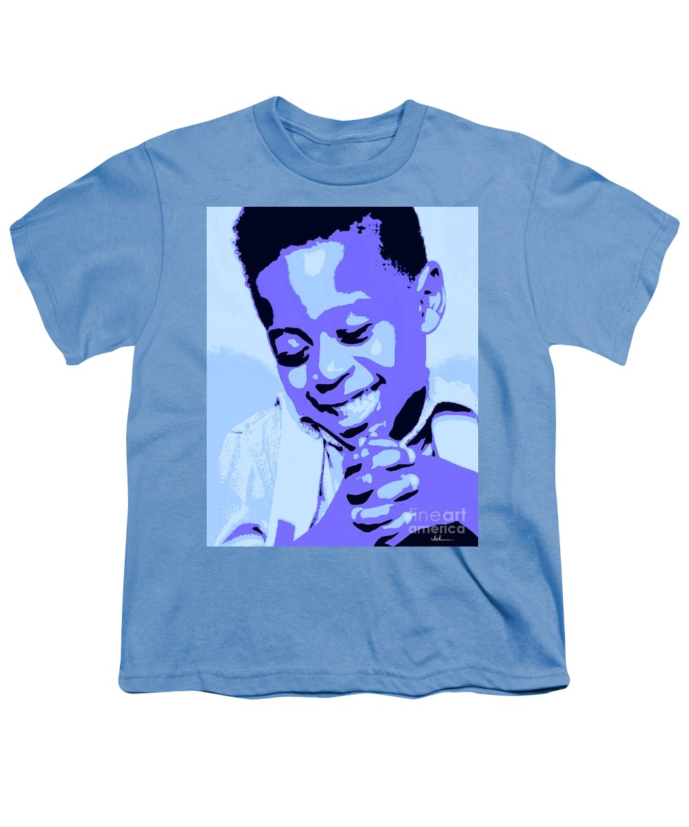 Pray Youth T-Shirt featuring the painting Precious Prayers by Jack Bunds