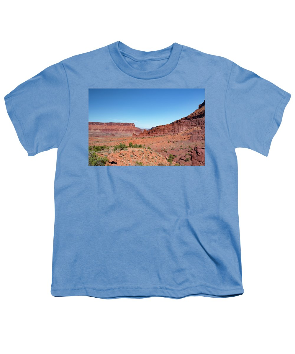 Fisher Towers Youth T-Shirt featuring the photograph Wild Utah Landscape by Jim Thompson