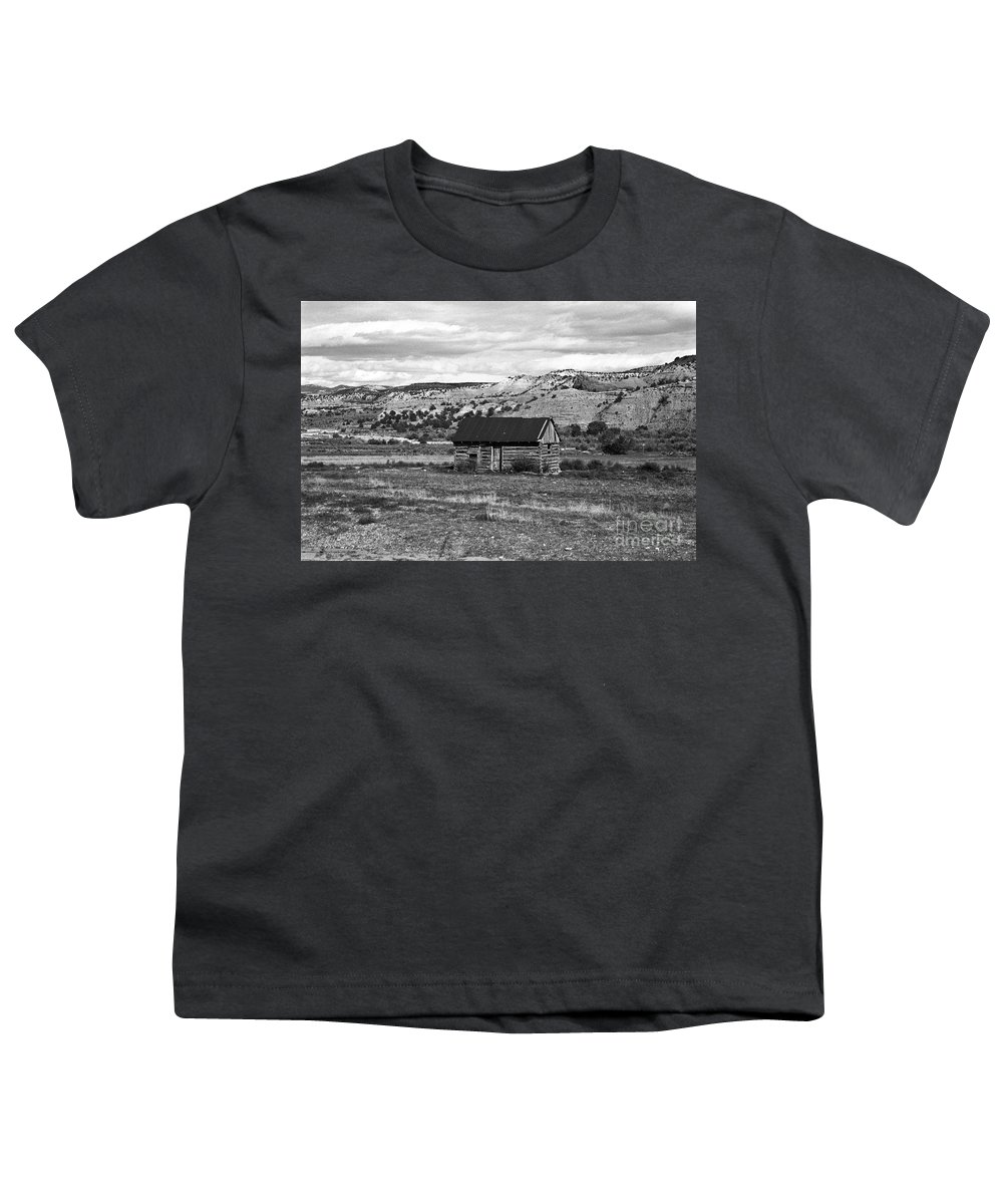 Utah Youth T-Shirt featuring the photograph Courage by Kathy McClure