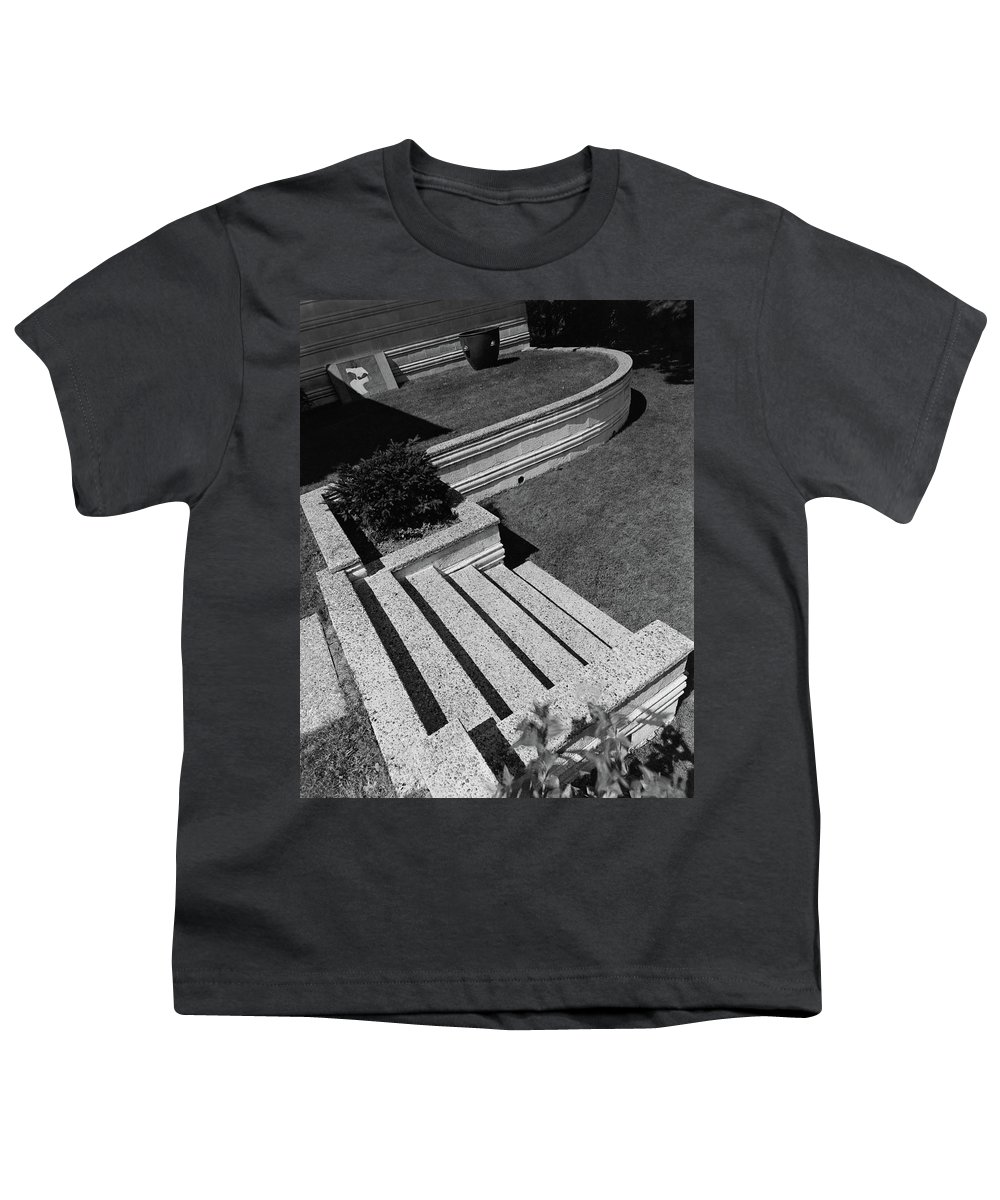 Exterior Youth T-Shirt featuring the photograph Kenneth Kassler's Garden by Robert M. Damora
