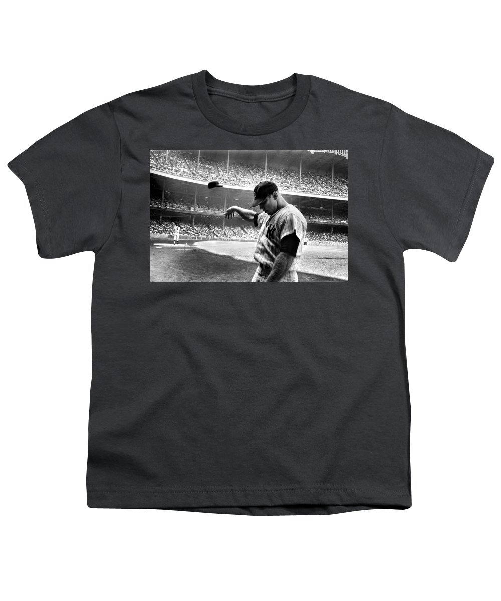 Mickey Mantle Youth T-Shirts
