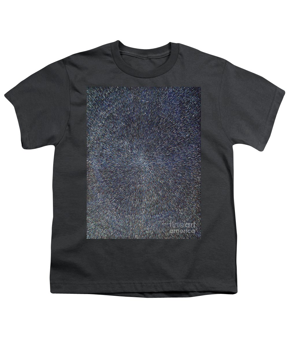 Abstract Youth T-Shirt featuring the painting Night Radiation by Dean Triolo