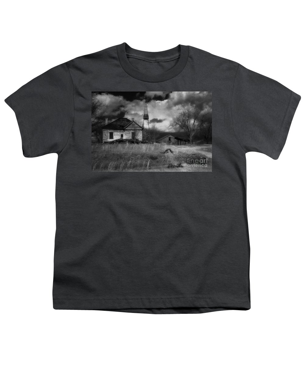 Farms Youth T-Shirt featuring the photograph Old Georgia Farm by Richard Rizzo