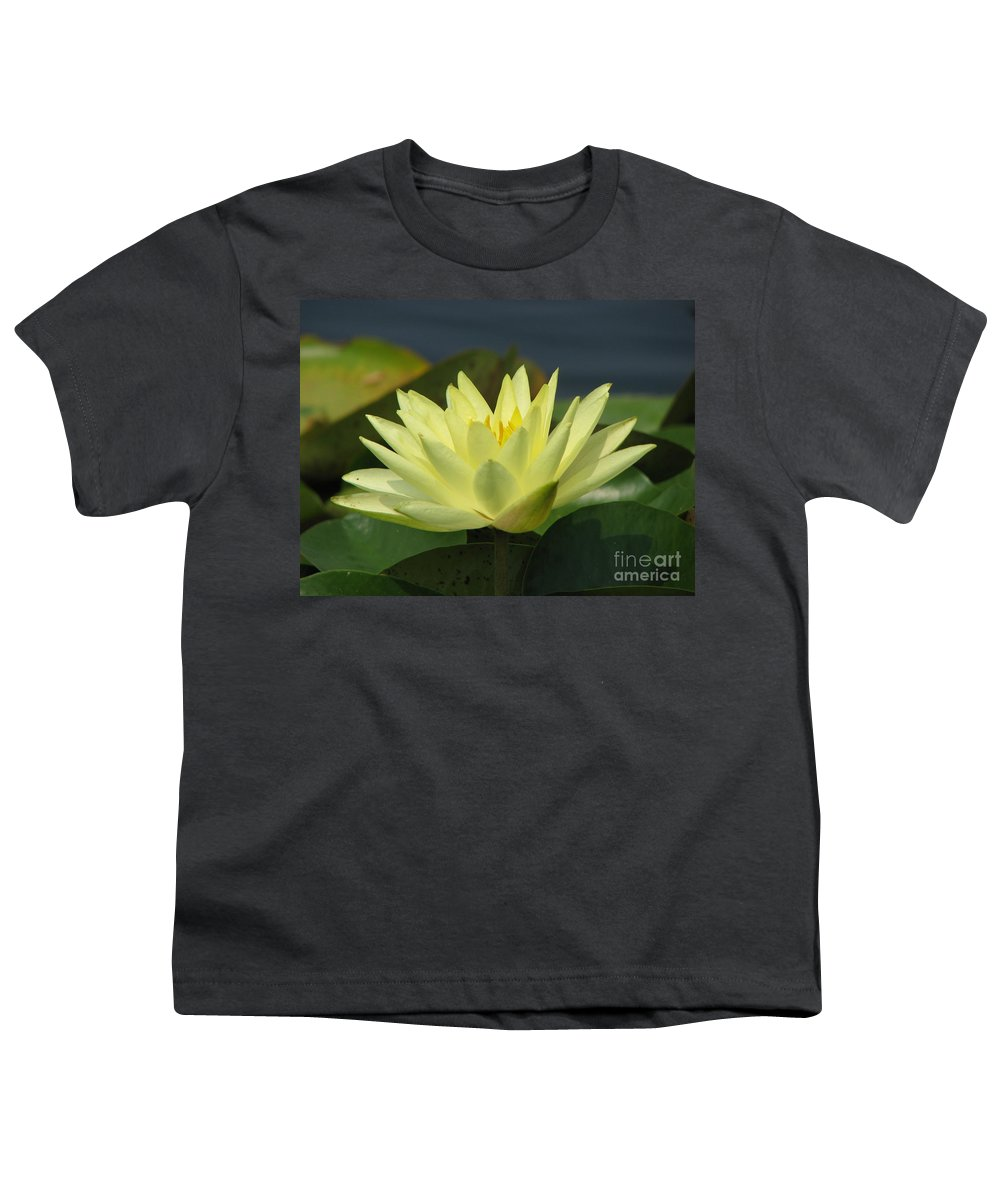 Lillies Youth T-Shirt featuring the photograph Peace by Amanda Barcon