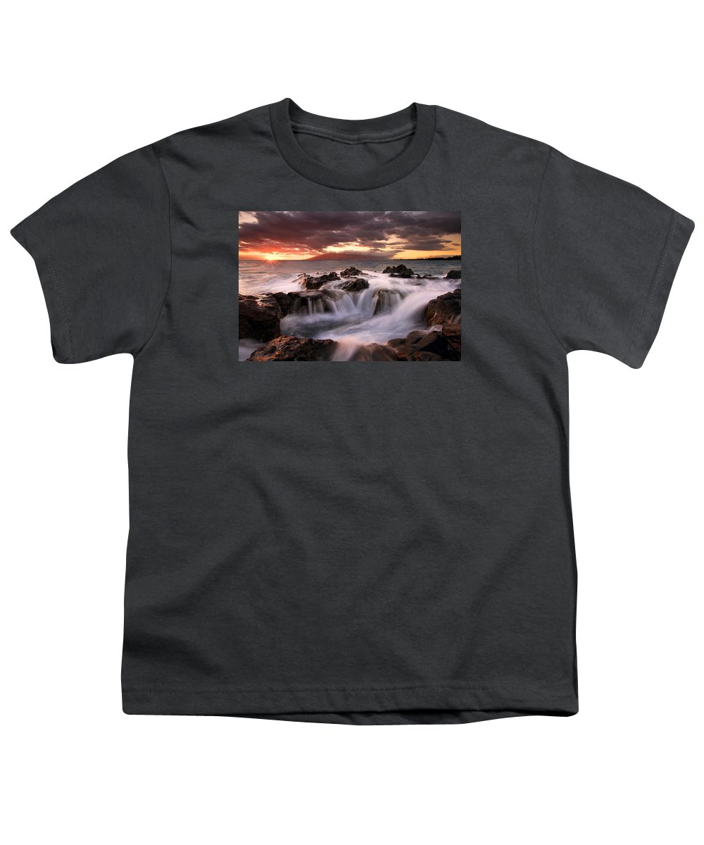 Hawaii Youth T-Shirt featuring the photograph Tropical Cauldron by Mike Dawson