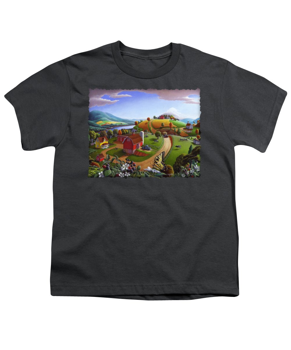 Rural Scenes Youth T-Shirts