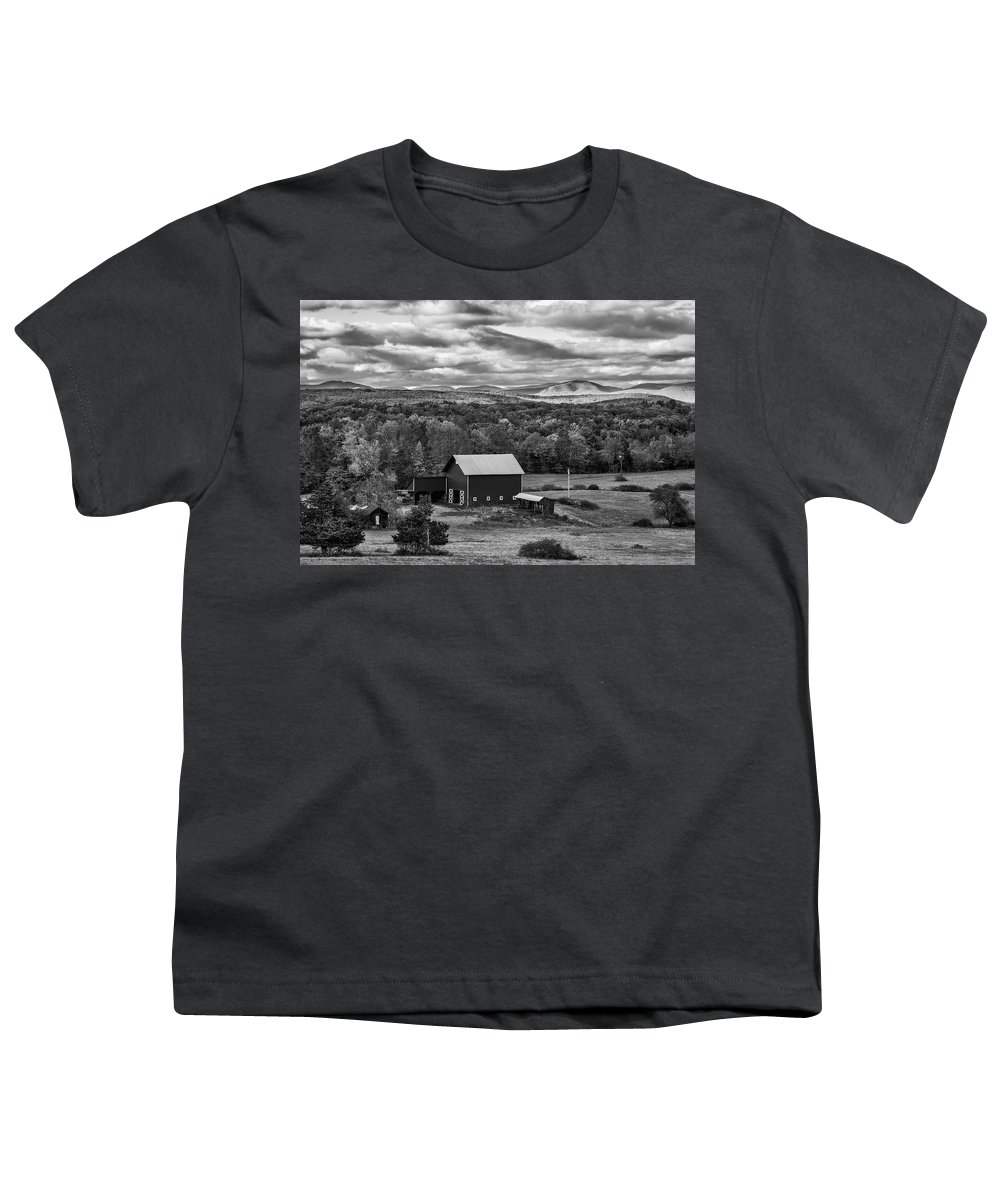 Autumn Youth T-Shirt featuring the photograph Hudson Valley Ny Fall Colors by Susan Candelario