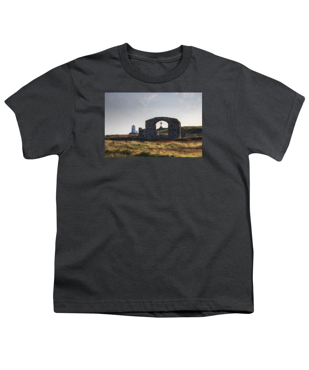 Ynys Llanddwyn Youth T-Shirt featuring the photograph Ynys Llanddwyn - Wales by Joana Kruse