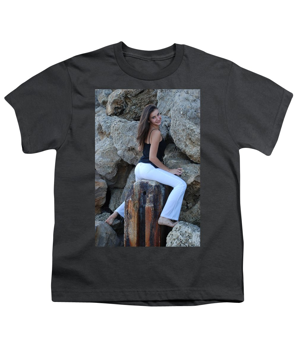 Women Youth T-Shirt featuring the photograph Gisele by Rob Hans