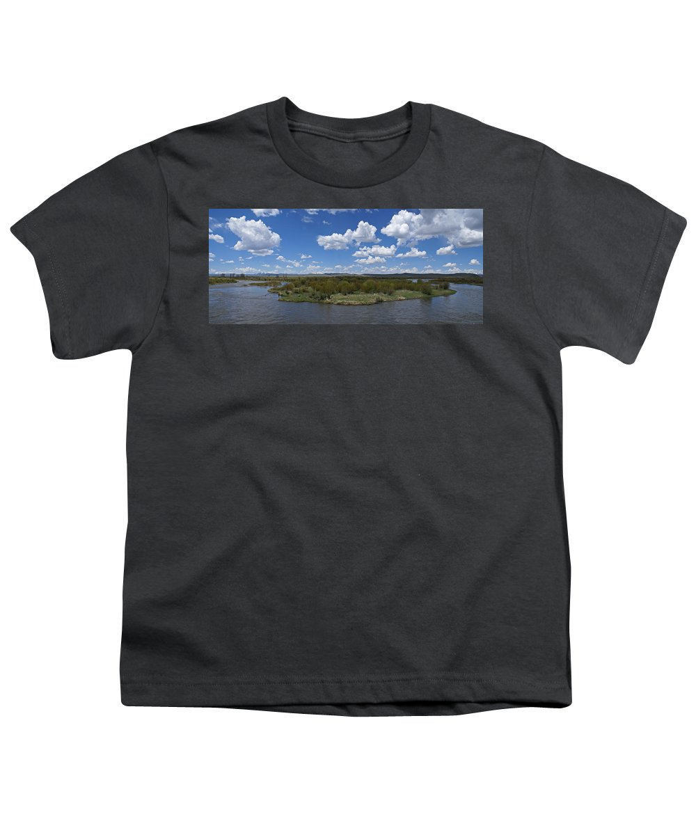 River Youth T-Shirt featuring the photograph A Bend In The River by Heather Coen