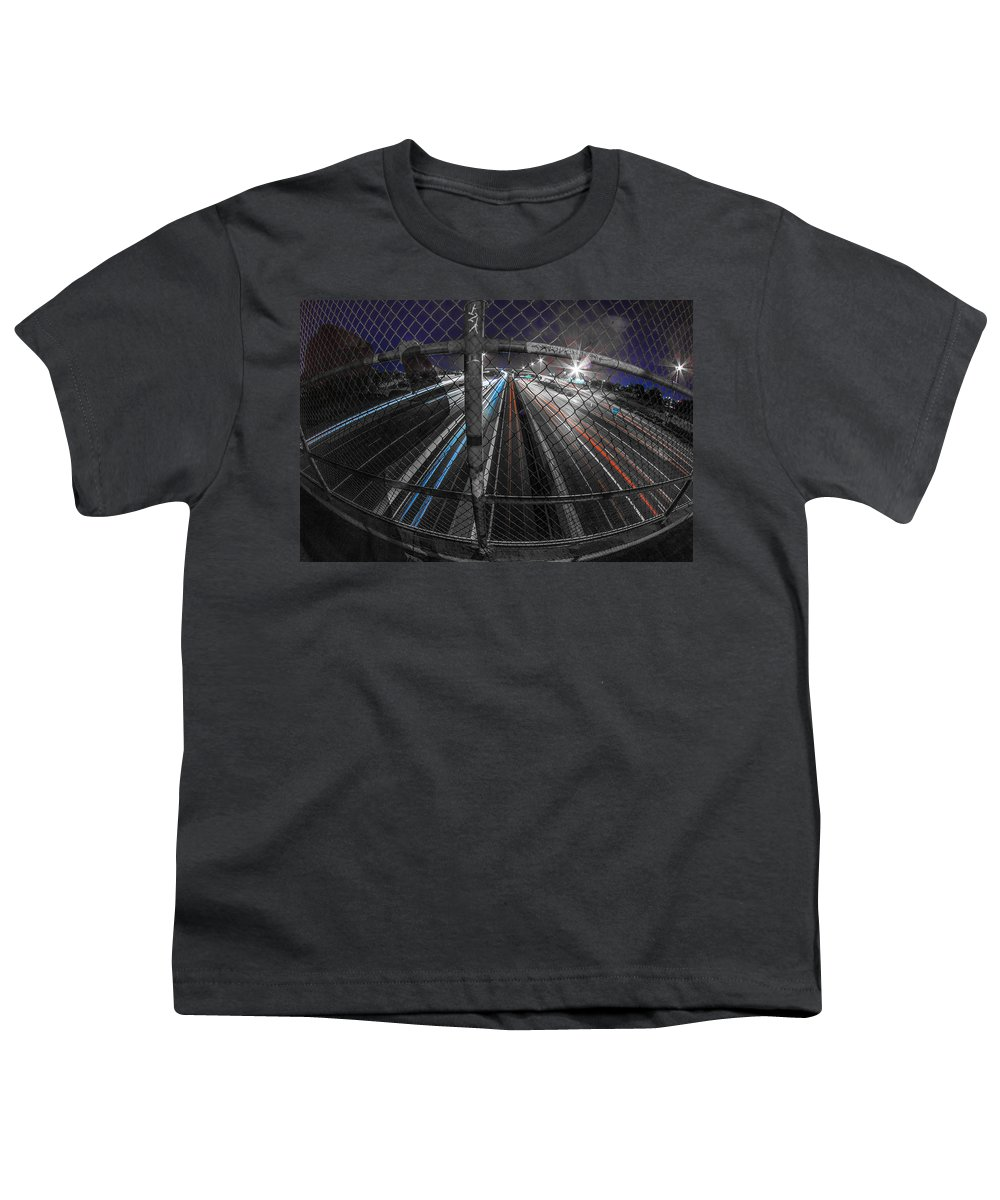 Youth T-Shirt featuring the photograph American Highway by Kyle Field