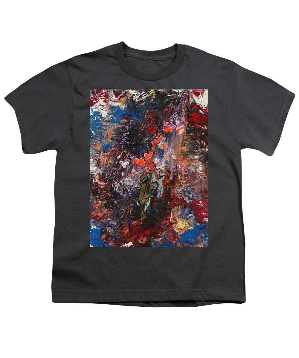 Fusionart Youth T-Shirt featuring the painting Angel Rising by Ralph White