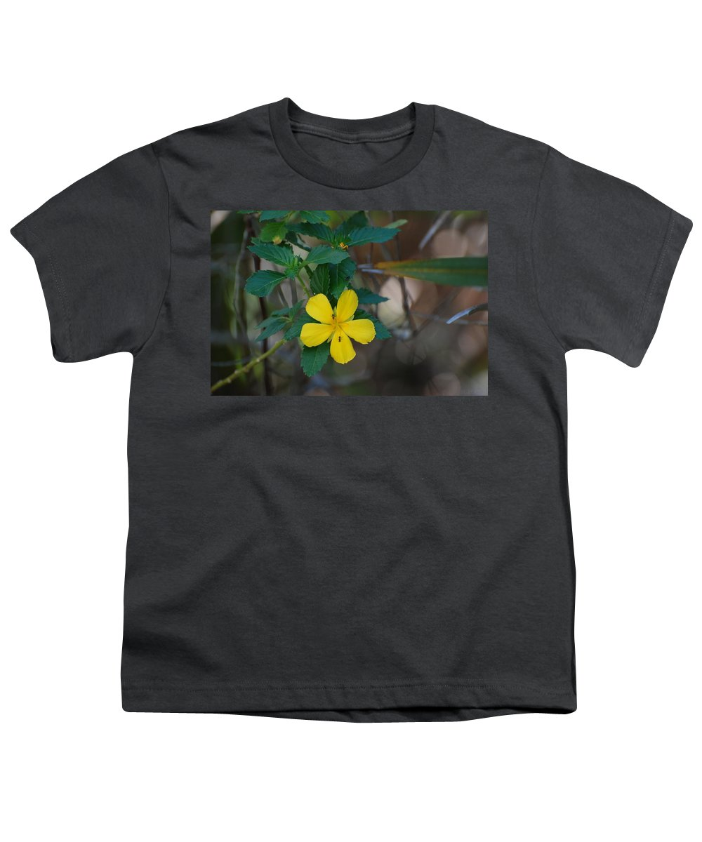 Macro Youth T-Shirt featuring the photograph Ant Flowers by Rob Hans