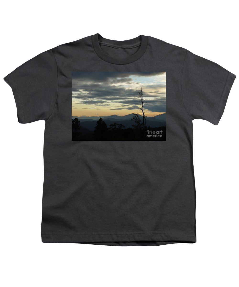 Atmospheric Youth T-Shirt featuring the photograph Atmospheric Perspective by Peter Piatt