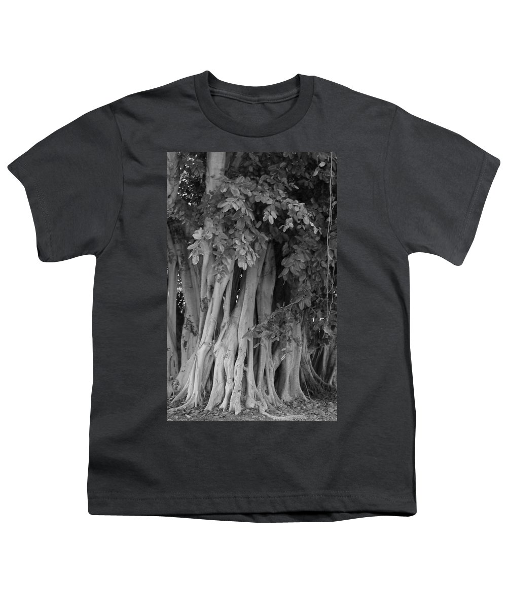 Youth T-Shirt featuring the photograph Banyans by Maria Bonnier-Perez