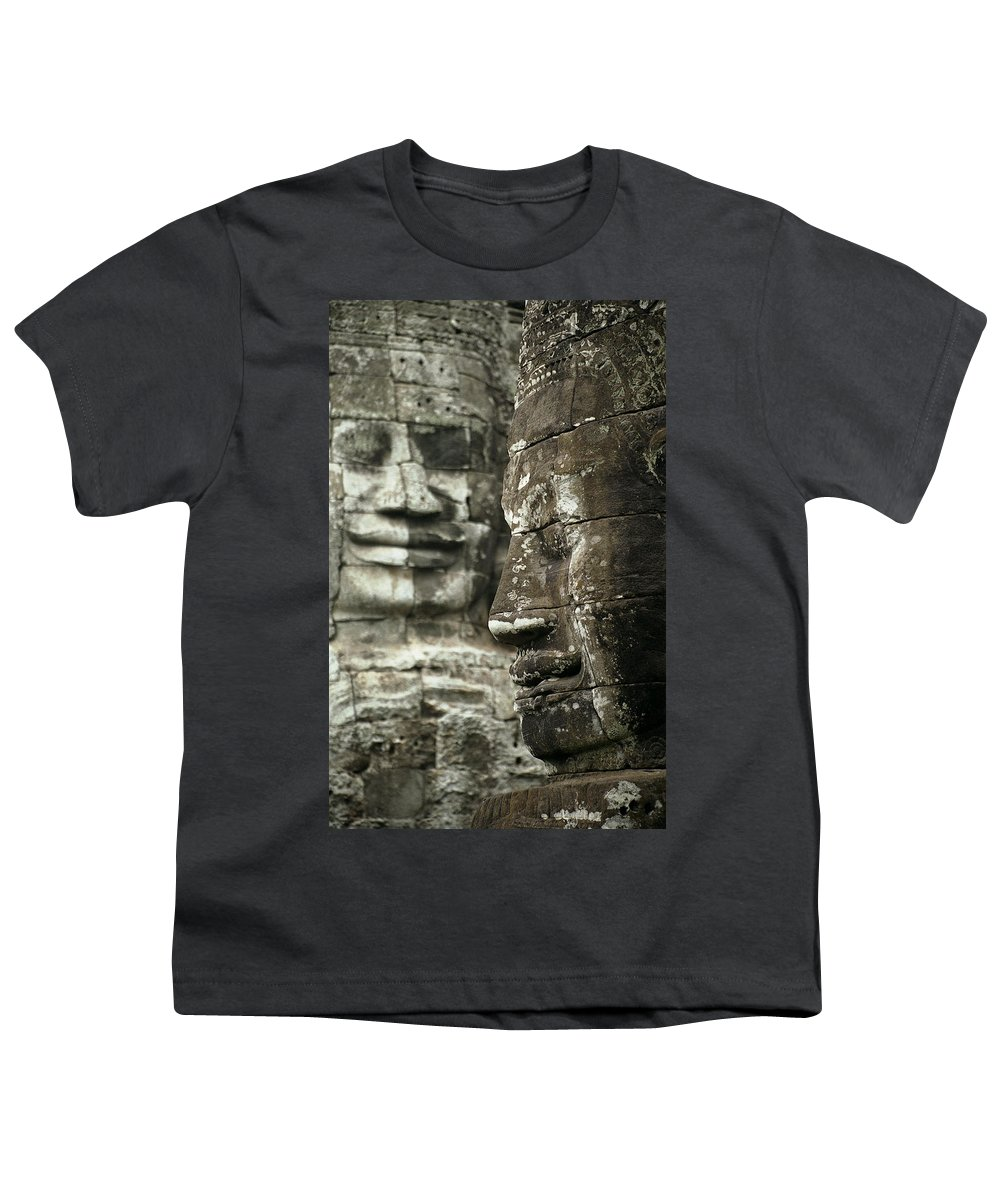 Bayon Youth T-Shirt featuring the photograph Bayonii by Patrick Klauss