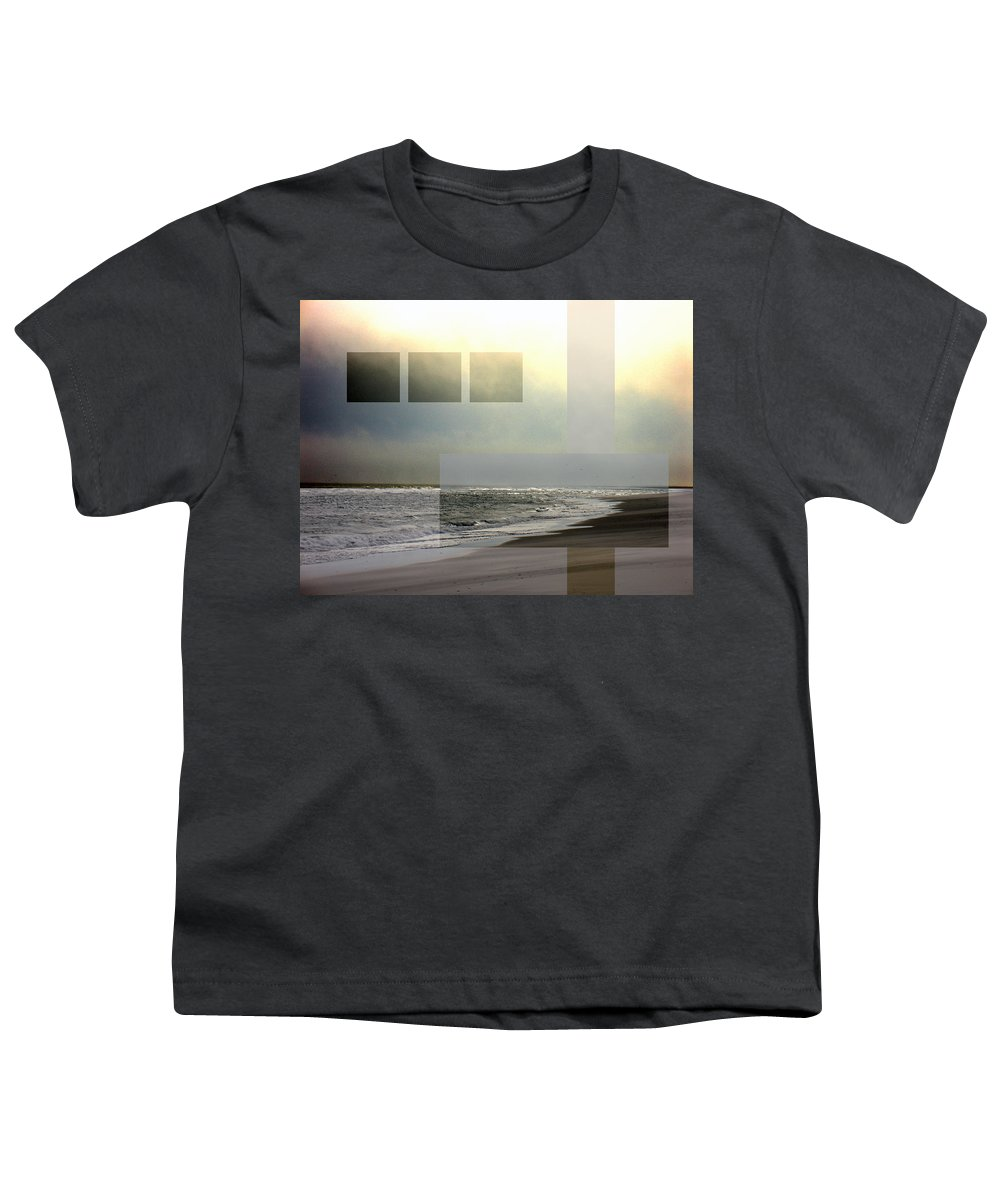 Beach Youth T-Shirt featuring the photograph Beach Collage 2 by Steve Karol