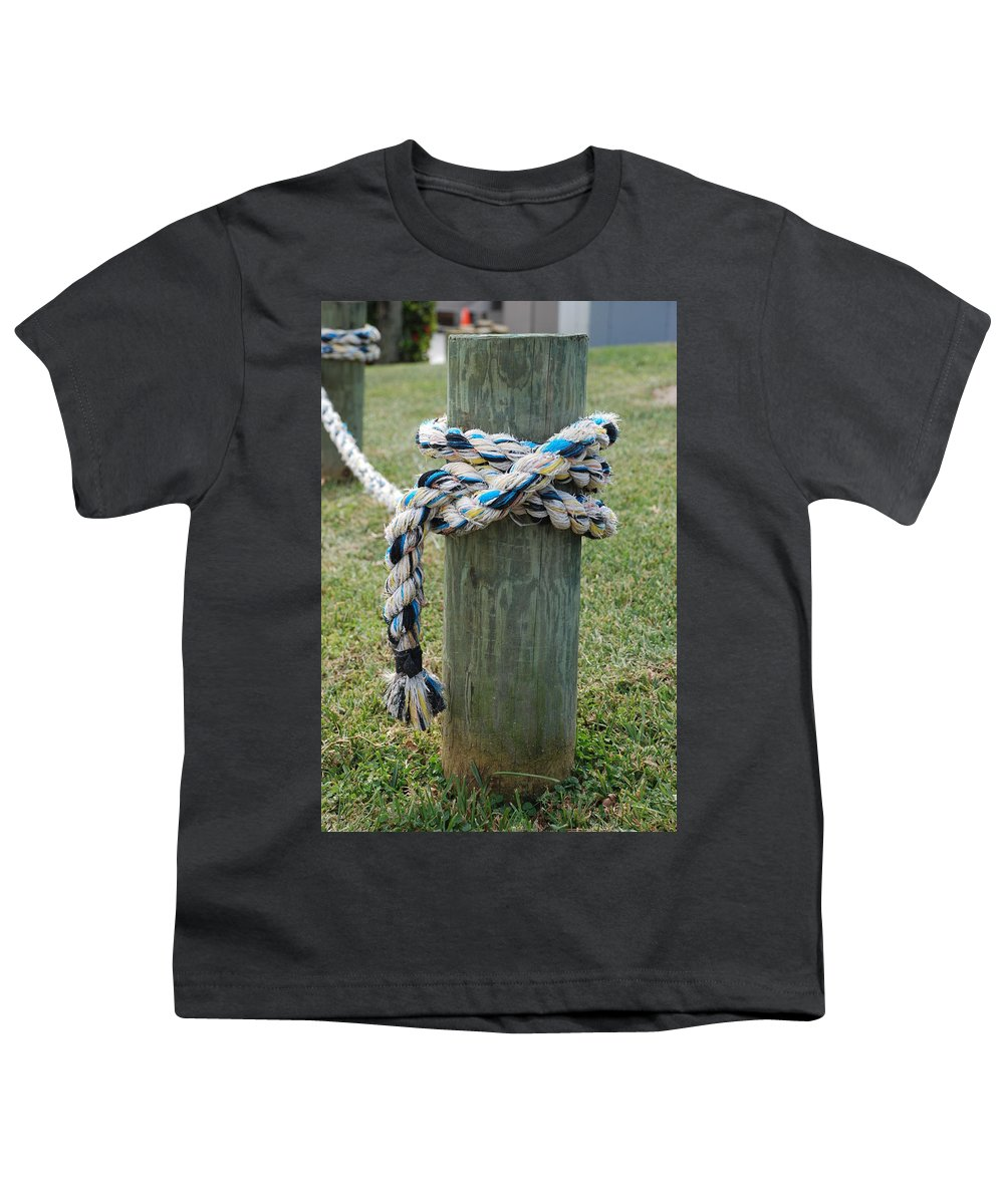 Boats Youth T-Shirt featuring the photograph Boat Lines by Rob Hans