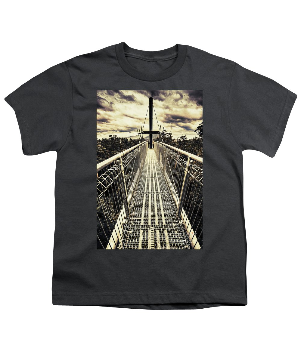Hiking Path Youth T-Shirts
