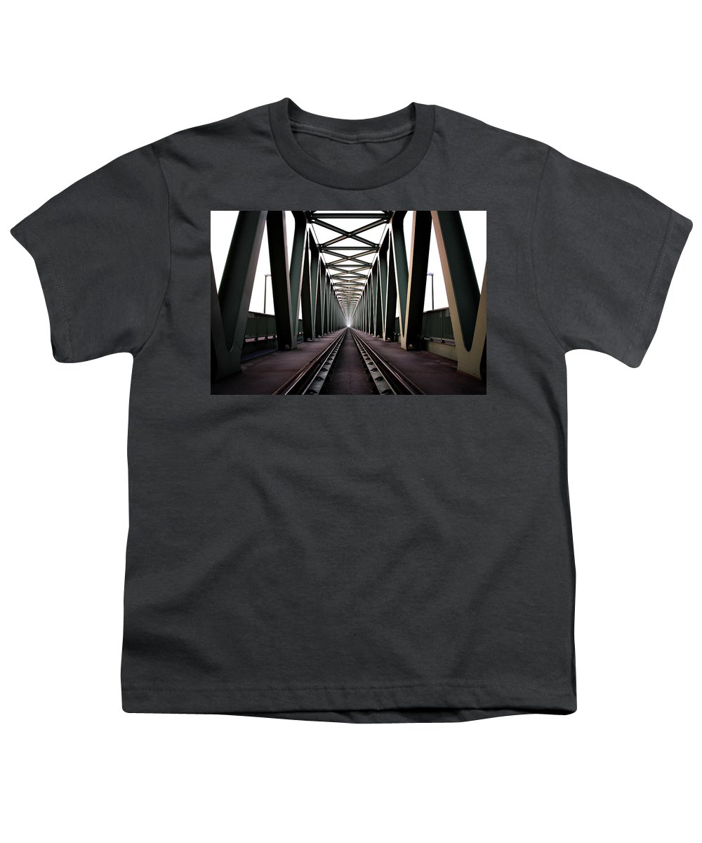 Bridge Youth T-Shirt featuring the photograph Bridge by Zoltan Toth