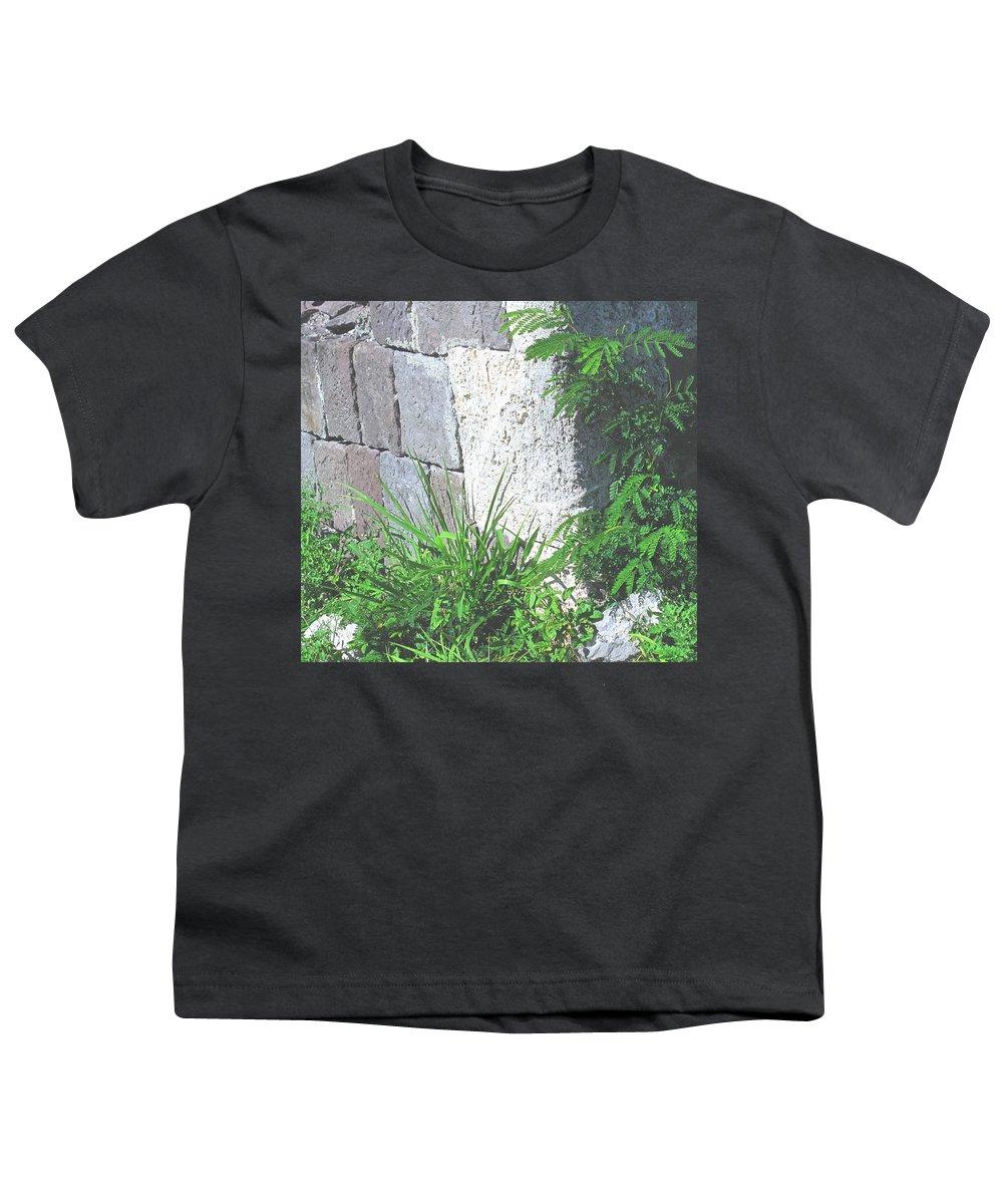 Brimstone Youth T-Shirt featuring the photograph Brimstone Wall by Ian MacDonald