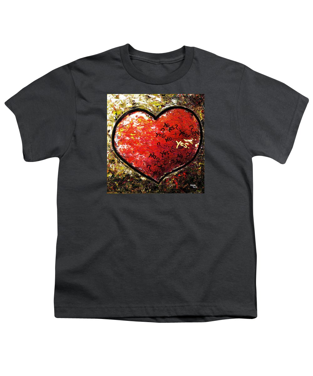 Pop Youth T-Shirt featuring the painting Chaos In Heart by Hiroko Sakai