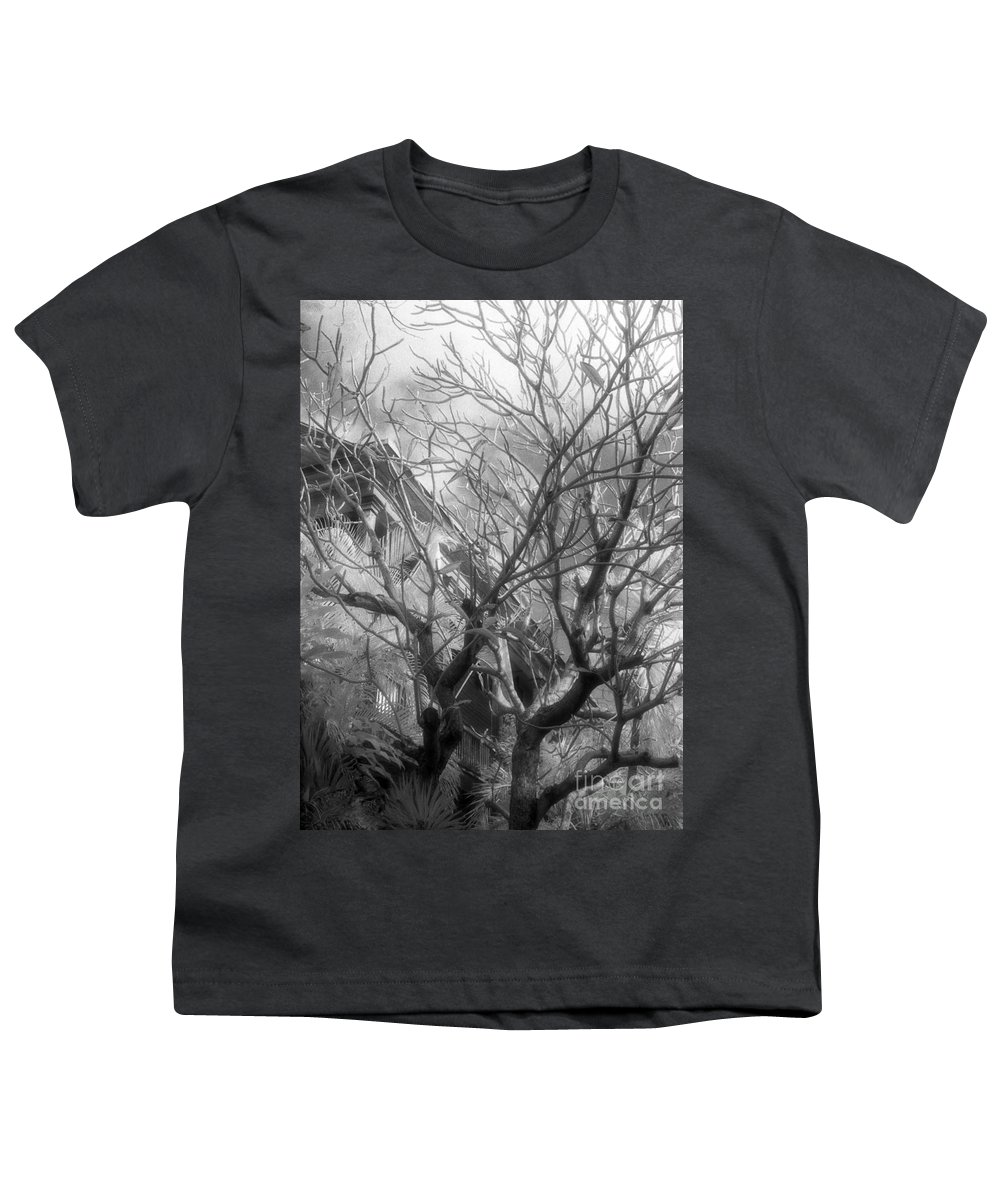 Infrared Photography Youth T-Shirt featuring the photograph Day Dream by Richard Rizzo