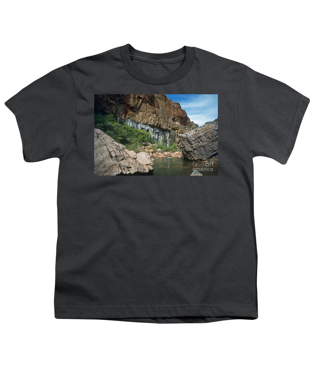 Landscape Youth T-Shirt featuring the photograph Deep Water by Kathy McClure